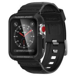 Spigen Robusztus Armor Pro burkolatát Apple Watch 3/2/1 - 42mm fekete védőtok az órára