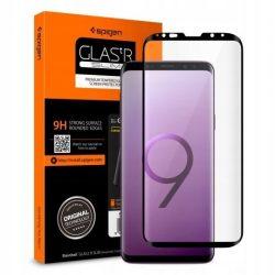 Edzett üvegfólia SPIGEN GLAS.TR CASE BARÁT GALAXY S9 BLACK Samsung Galaxy kijelzőfólia üvegfólia tempered glass