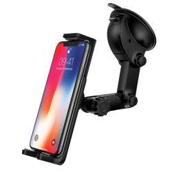 Ringke Monster autós tartó Autós tartó Phone Holder Portál vagy a szélvédő fekete (ACCM0001-RPKG)