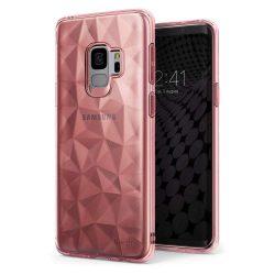 Ringke Air Prism Ultra-vékony 3D Cover Gel TPU tok telefon tok hátlap Samsung Galaxy S9 G960 pink (APSG0018-RPKG)