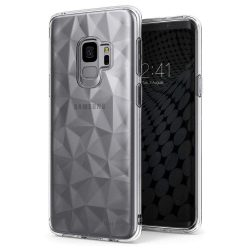 Ringke Air Prism Ultra-vékony 3D Cover Gel TPU tok telefon tok hátlap Samsung Galaxy S9 G960 szürke (APSG0020-RPKG)