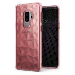 Ringke Air Prism Ultra-vékony 3D Cover Gel TPU telefon tok telefontok Samsung Galaxy S9 Plus G965 pink (APSG0022-RPKG)