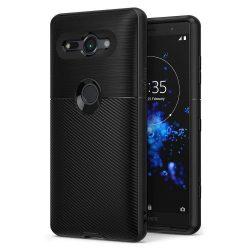 Ringke Onyx Tartós TPU tok telefon tok hátlap Sony Xperia XZ2 Compact fekete (OXSN0003-RPKG)