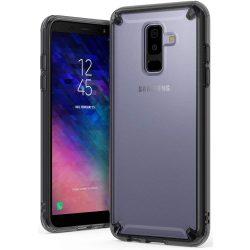Ringke Fusion PC tok telefon tok hátlap TPU bumper Samsung Galaxy A6 Plus 2018 A605 fekete (FSSG0046-RPKG)