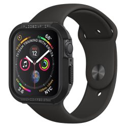 SPIGEN RUGGED ARMOR Apple Watch 4 (44MM) BLACK védőtok az órára