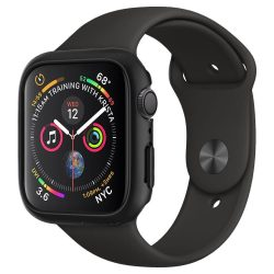 SPIGEN THIN FIT Apple Watch 4 (44MM) BLACK védőtok az órára