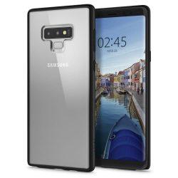 Spigen Ultra hibrid telefon tok Samsung Galaxy Note 9 N960 fekete (matt fekete) tok telefon tok hátlap