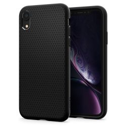 Spigen Liquid Air telefon tok iPhone XR fekete (064CS24872) telefon tok telefontok
