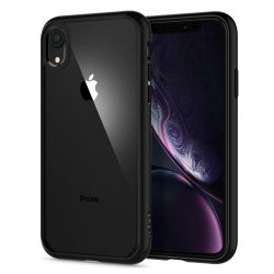 Spigen Ultra hibrid telefon tok iPhone XR fekete (064CS24874) tok telefon tok hátlap