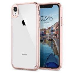 Spigen Ultra hibrid telefon tok iPhone XR rózsaszín (Rose Crystal) tok telefon tok hátlap