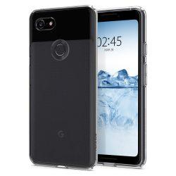 Spigen Liquid Crystal telefon tok Google Pixel 3 átlátszó tok telefon tok hátlap