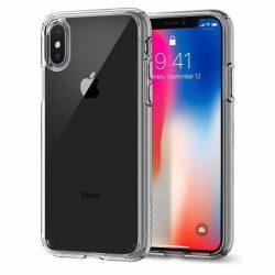 Spigen Ultra hibrid telefon tok iPhone XS / X átlátszó tok telefon tok hátlap