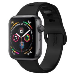 SPIGEN AIR FIT BAND Apple Watch 1/2/3/4/5 (38 / 40MM) BLACK tok telefon tok hátlap