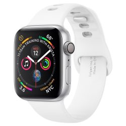 SPIGEN AIR FIT BAND Apple Watch 1/2/3/4/5 (38 / 40MM) WHITE tok telefon tok hátlap