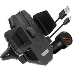 Spigen X35w Vent autós tartó vezeték nélküli töltő fekete