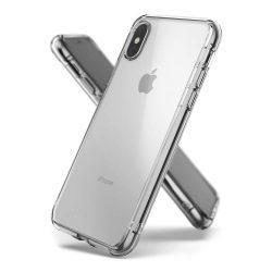 Ringke Fusion PC tok telefon tok hátlap TPU bumper iPhone XS / X átlátszó (FSAP0025)