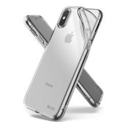 Ringke Air Ultra-Thin Cover Gel TPU tok telefon tok hátlap iPhone XS / X átlátszó (ARAP0013)