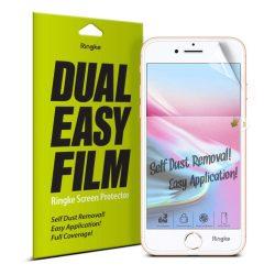 Ringke Dual Easy Film 2x önálló portalanító képernyővédő fólia iPhone 8/7 / 6S / 6 (ESAP0001-RPKG) kijelzőfólia üvegfólia tempered glass