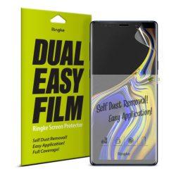 Ringke Dual Easy Film 2x önálló portalanító képernyő védő Samsung Galaxy Note 9 N960 (ESSG0001-RPKG) kijelzőfólia