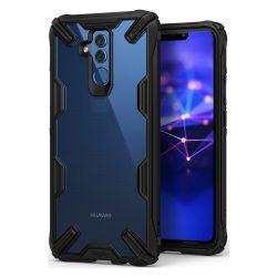 Ringke Fusion X tartós PC tok TPU Bumper tok Huawei Mate 20 Lite fekete (FXHW0005 - RPKG) telefon tok telefontok (hátlap)