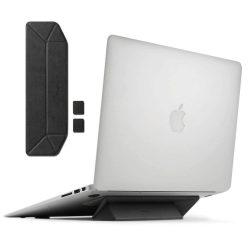 Ringke Laptop állvány Összecsukható hordozható tartó Laptop Notebook fekete (ACST0003)