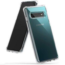 Ringke Fusion PC telefon tok telefontok TPU bumper Samsung Galaxy S10 átlátszó (FSSG0055)