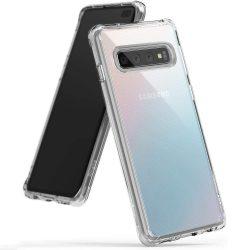 Ringke Fusion PC tok telefon tok hátlap TPU bumper Samsung Galaxy S10 Plus átlátszó (FSSG0058)