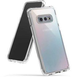 Ringke Fusion PC tok telefon tok hátlap TPU bumper Samsung Galaxy S10e átlátszó (FSSG0061-RPKG)