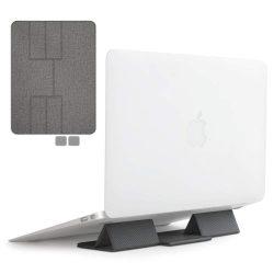 Ringke Összecsukható állvány Összecsukható hordozható tartó Laptop Notebook Mouse Pad szürke (ACST0007)