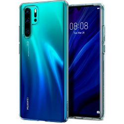 SPIGEN Liquid Crystal HUAWEI P30 PRO KRISTÁLYTISZTA telefon tok telefontok (hátlap)