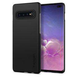 SPIGEN VÉKONY FIT GALAXY S10 + PLUS BLACK Samsung Galaxy tok telefon tok hátlap