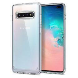 SPIGEN ULTRA HYBRID GALAXY S10 + PLUS KRISTÁLYTISZTA Samsung Galaxy telefon tok telefontok (hátlap)