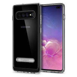 """SPIGEN ULTRA hibrid """"S"""" Galaxy S10 + PLUS KRISTÁLYTISZTA Samsung Galaxy tok telefon tok hátlap"""