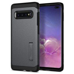 SPIGEN TOUGH ARMOR GALAXY S10 + PLUS grafitszürke Samsung Galaxy tok telefon tok hátlap