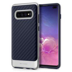 SPIGEN NEO HYBRID GALAXY S10 + PLUS ívelt TIC SILVER Samsung Galaxy tok telefon tok hátlap