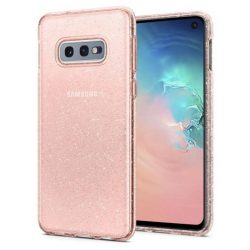 Spigen folyadékkristályos Samsung Galaxy S10e Glitter Rose