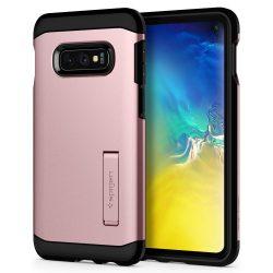 SPIGEN TOUGH ARMOR GALAXY S10 E LITE ROSE GOLD Samsung Galaxy tok telefon tok hátlap