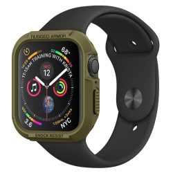 SPIGEN RUGGED ARMOR Apple Watch 4 (40MM) olajzöld tok telefon tok hátlap