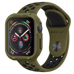 SPIGEN RUGGED ARMOR Apple Watch 4 (44MM) olajzöld tok telefon tok hátlap