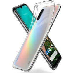 SPIGEN FOLYADÉKKRISTÁLYOS Xiaomi MI A3 KRISTÁLYTISZTA telefon tok telefontok (hátlap)