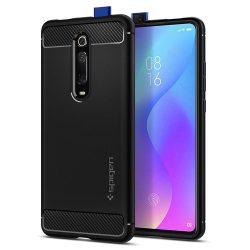 SPIGEN RUGGED ARMOR Xiaomi MI 9T / MI 9T PRO BLACK telefon tok telefontok