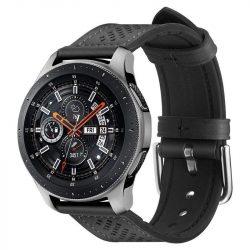 Spigen Retro Fit együttes Samsung Galaxy Watch 46mm fekete telefontok