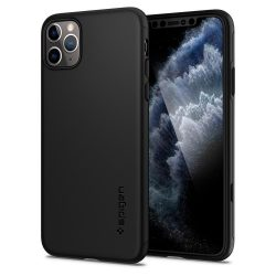 SPIGEN THIN FIT IPHONE 11 360 MAX PRO BLACK tok telefon tok hátlap