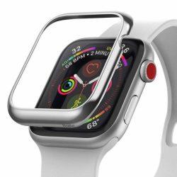 Ringke visszahelyezése hajformázó telefontok keret borítékot gyűrű Apple Watch 44 mm ezüst (RGAP0010) telefontok hátlap tok