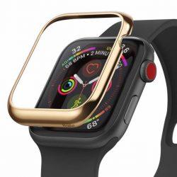 Ringke visszahelyezése hajformázó telefontok keret borítékot gyűrű Apple Watch 44 mm arany (RGAP0011) telefontok hátlap tok