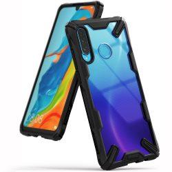 Ringke Fusion X tartós PC tok TPU Bumper tok Xiaomi Mi 9T Pro / Mi 9T fekete (FXXI0003) telefon tok telefontok