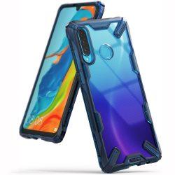 Ringke Fusion X tartós PC tok TPU Bumper tok Xiaomi Mi 9T Pro / Mi 9T kék (FXXI0004) tok telefon tok hátlap