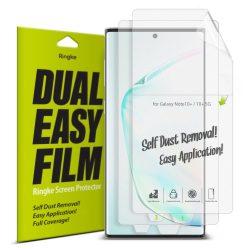 Ringke Dual Easy Film 2x önálló portalanító képernyő védő Samsung Galaxy Note 10 (ESSG0014) kijelzőfólia