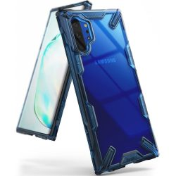 Ringke Fusion X tartós PC tok TPU Bumper tok Samsung Galaxy Note 10 Plus kék (FUSG0030) tok telefon tok hátlap