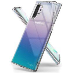 Ringke Air Ultra - Thin Cover Gel TPU tok Samsung Galaxy Note 10 Plus átlátszó (ARSG0022) tok telefon tok hátlap